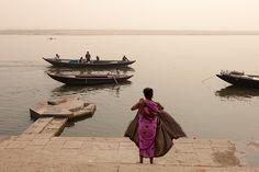 Morning, Varanasi, via Flickr.