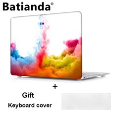 Fashion Colors Ink flow printed Case Air 11 12 13 Pro 13 15 for Apple Macbook pro 13 15 with retina Hard cover sleeve shell Macbook Pro 13, Macbook Case, Apple Macbook Pro, Mac Pro, Keyboard Cover, Shell, Laptop Accessories, Iphone, Laptop Bags