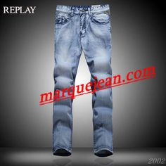 Vendre Jeans Replay Homme H0011 Pas Cher En Ligne.