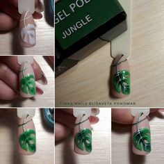 Here is a tutorial for an interesting Christmas nail art Silver glitter on a white background – a very elegant idea to welcome Christmas with style Decoration in a light garland for your Christmas nails Materials and tools needed: base… Continue Reading → Crazy Nail Designs, Nail Art Designs, Nail Art Fleur, Nagel Bling, Manicure Y Pedicure, Flower Nail Art, Get Nails, Nagel Gel, Bling Nails