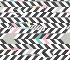 arrows fabric by katarina on Spoonflower - custom fabric