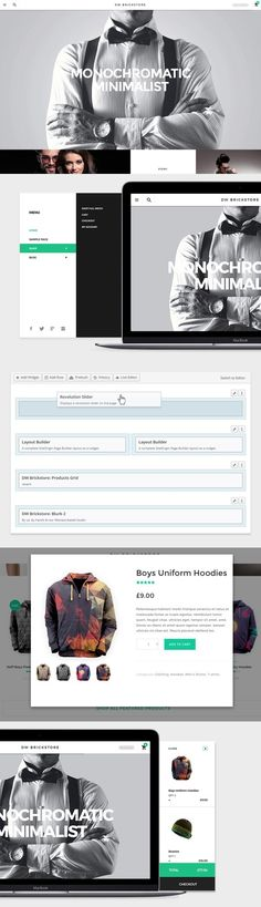 DW Brickstore- WooCommerce theme. WordPress eCommerce Themes. $49.00