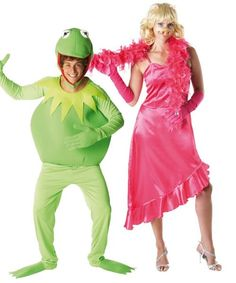 Kermit the Frog and Miss Piggy from The Muppets