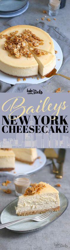 Baileys NY Cheesecake   Bake to the roots