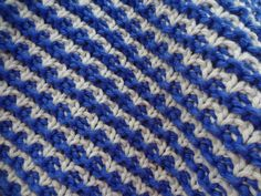 Hand Knit Cotton Dish Cloth by SpindleCityKnits on Etsy, $12.00