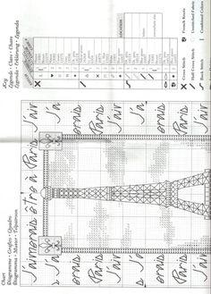 Gallery.ru / Фото #2 - Эйфелева башня и королевские лилии - DELERJE