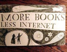 More books, less Interne