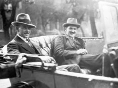 size: Photographic Print: Michael Collins with Emmet Dalton During the Treaty Discussions in London, 1921 by English Photographer : Irish Independence, Sailing Regatta, Images Of Ireland, Erin Go Bragh, Michael Collins, Event Poster Design, Kingdom Of Great Britain, Emotion, Find Art
