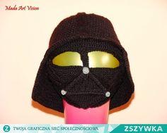 Zobacz zdjęcie Pomysł na siarczyste mrozy - czapka z maską dla fanów Star Wars w pełnej rozdzielczości