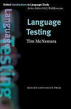 Language testing -  Mcnamara, Tim -  plaats 800 # Taalkunde