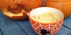 Pumpkin Hummus  http://www.jointhereboot.com/spooky-scary-nutrition-facts/