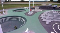 The Pulse Park, Arhus Denmark, CEBRA, 2012 - Playscapes