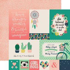 JBY119013 4x6 Journaling Cards