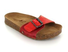 Haflinger Women s Gina Sandals. Leather Cover aa889bd98c9d3