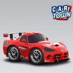 ¡Hoy novedad en Car Town: el Dodge Viper Competition Coupe! ¡Agarra hoy este rápido y exuberante Viper para tu taller mientras puedes!    19/01/2013