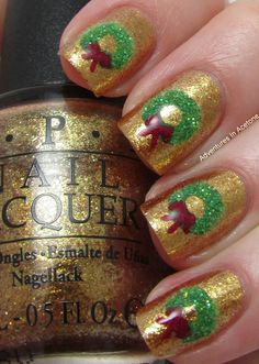 Christmas Nail Art Idea Round-up! - Adventures In Acetone