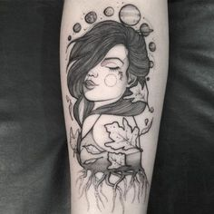 Veja esta publicação do Instagram de @angelikatattooer • Café Preto Tattoo Tattoos 3d, Pin Up Tattoos, Great Tattoos, Unique Tattoos, Beautiful Tattoos, Flower Tattoos, Body Art Tattoos, Girl Tattoos, Sleeve Tattoos