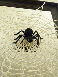 #2 Halloween Spider by Yana Ivey   Crochet Toy Patterns  ☀CQ #crochet #halloween #crafts #DIY óÓò