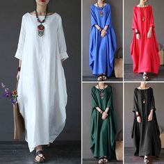 Women Summer Beach Party Long Maxi Dress Sundress Fashion Long Dress Skirt #Unbranded #ALineDress #Casual