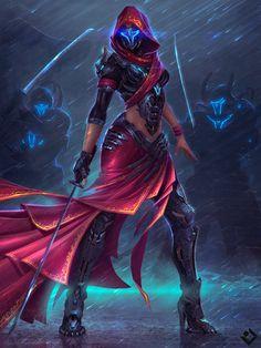 fusion retro scifi armor