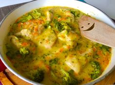 Polish Recipes, Palak Paneer, Guacamole, Food And Drink, Mexican, Lunch, Meat, Chicken, Blog