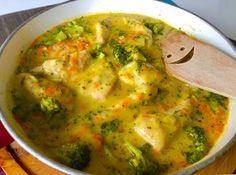 Fileciki z kurczaka w sosie serowo-brokulowym - Blog z apetytem Polish Recipes, Palak Paneer, Guacamole, Food And Drink, Mexican, Lunch, Meat, Chicken, Blog