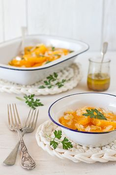 Los Tragaldabas: Ensalada de naranja con bacalao
