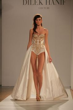 Literally the most amazing piece in this collection. I am in LOVE Dilek Hanif Haute Couture
