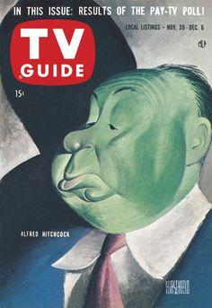 November 30, 1957. Alfred Hitchcock.
