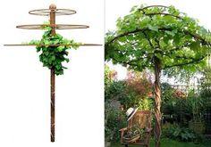 Paraplyformat torn- så coolt istället för ett träd
