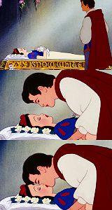 Ahhhhhh...Kiss from Snow White  best movie scene of the world