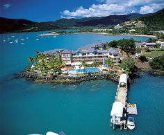 Airlie Beach, Australia - this is where we jumped on a racing yacht for three days and sailed out to the great barrier reef