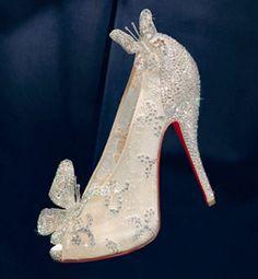 62b397b4814c Christian Louboutins Cinderella Slippers