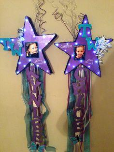 All Star Cheerleading Spirit sticks for Fans, Tumble World Dream All Stars!