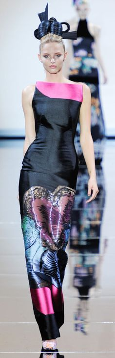 Armani Prive Couture Fall 2011
