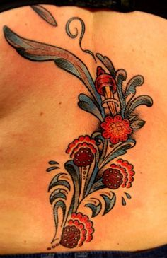 This one is quite nice. Maybe more traditional and less painterly than I was thinking, but it has a crispness and clarity that is nice, and the details are nice. Swedish Tattoo, Tribal Tattoos, Tatoos, Scandinavian Tattoo, Different Kinds Of Art, Ink Addiction, Tattoo Designs, Tattoo Ideas, Tattoo Inspiration