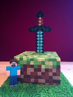 Fredke and Friends « Minecraft in Form einer Torte