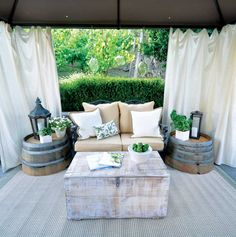 Outdoor Oasis: An Affordable Backyard Makeover - Green Homes - Natural Home Garden