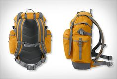 Continental Rucksack | by L.L. Bean - http://designyoutrust.com/2014/08/continental-rucksack-by-l-l-bean/
