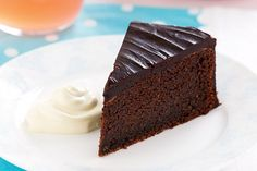 Rich, chocolatey and delicious - it is hard to believe that this cake is made without flour.