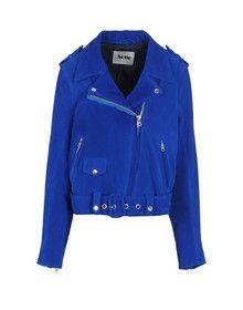 viv west ACNE - Leather outerwear