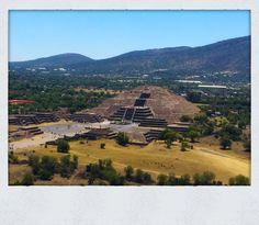 Moon Pyramid in Teotihuacán México.