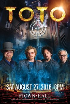 Toto @ Town Hall (8.27.16)