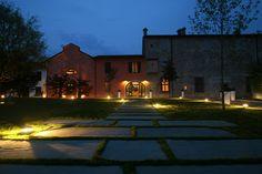 "Outdoor Lighting Project ""Ristorante Villa Sauli"""