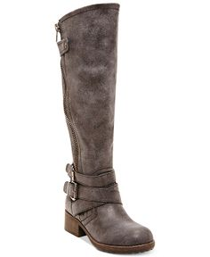 Madden Girl Master Tall Shaft Boots - Boots - Shoes - Macy's