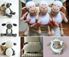 Crochet Bobble Sheep Pattern