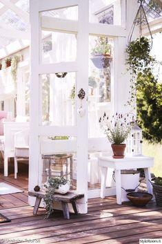 kasvihuone,sisustus,terassi,terassin sisustus,piha Gazebo Pergola, Conservatory, Outdoor Gardens, Villa, Table Decorations, Greenhouses, Furniture, Home Decor, Gardening