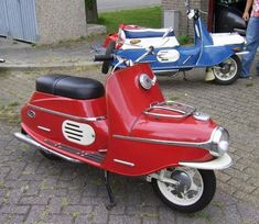 Cezeta, Czech scooter manufactured from 1957 to 1964 Motor Scooters, Vespa Scooters, Motor Car, Vintage Bikes, Vintage Motorcycles, Cars And Motorcycles, Retro, Power Bike, Scooter Motorcycle