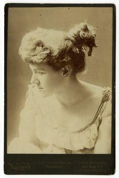 Ella Wheeler Wilcox Author Poet Original Unsigned Cabinet Photograph | eBay