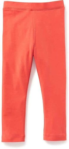 ca0f2339c 50% Off Old Navy Solid Leggings For Toddler Girls Size 12-18 M - Hot tamale